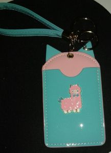 Leatherette Alpaca Cardholder Retailed for $7.90