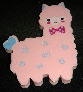 Glitter Alpaca Eraser Retailed for $1.90