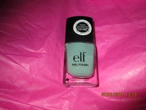 e.l.f. Essential Nail Polish in Mint Cream retailed at $2.00