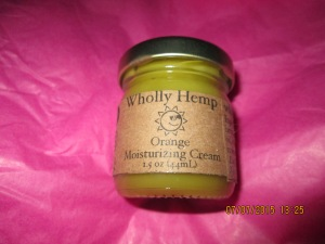 Moisturizing Cream Sweet Orange 1.5oz. jar Retailed at $5.00