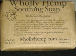 Bodacious Bergamot Soothing Soap